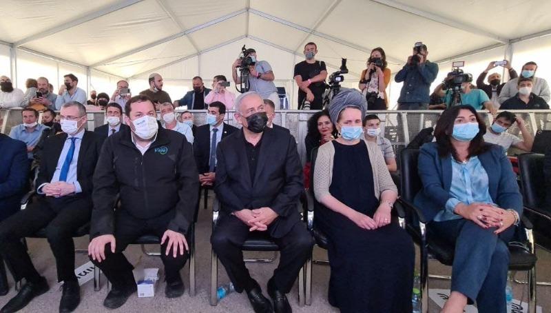 ביקור שרי הליכוד וראש הממשלה ברבבה