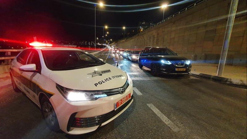 משטרת ישראל הציבה מחסומים בירושלים