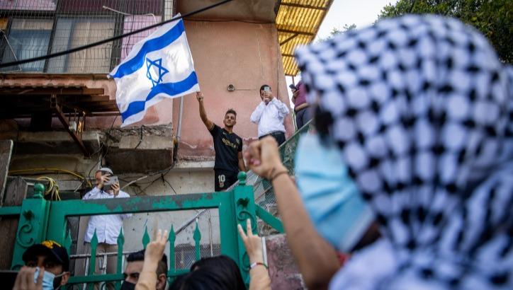 הפגנה נגד כניסת משפחות יהודיות לאזור שייח