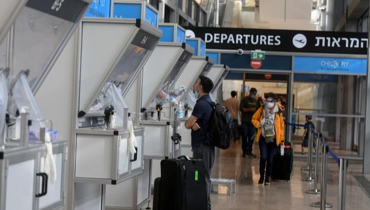 בדיקת קורונה בנמל התעופה בן גוריון