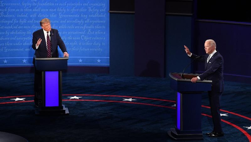 העימות הראשון בין טראמפ וביידן