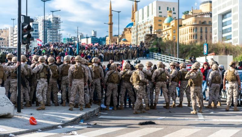 ביירות בוערת: שישה הרוגים מירי בהפגנות ארגון חיזבאללה