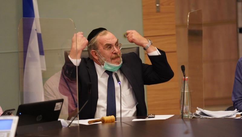 """יו""""ר ועדת חוקה, יעקב אשר"""