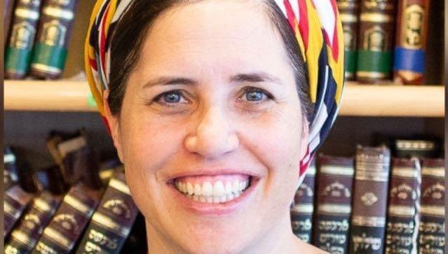 הרבנית שירה מרילי מירוויס. עשתה היסטוריה