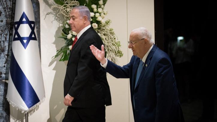 ריבלן ונתניהו לאחר בחירות הסבב השני, ספטמבר 2019