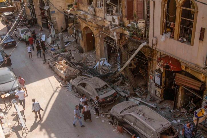 יותר מ-6,000 מבנים ניזוקו כתוצאה מהפיצוץ