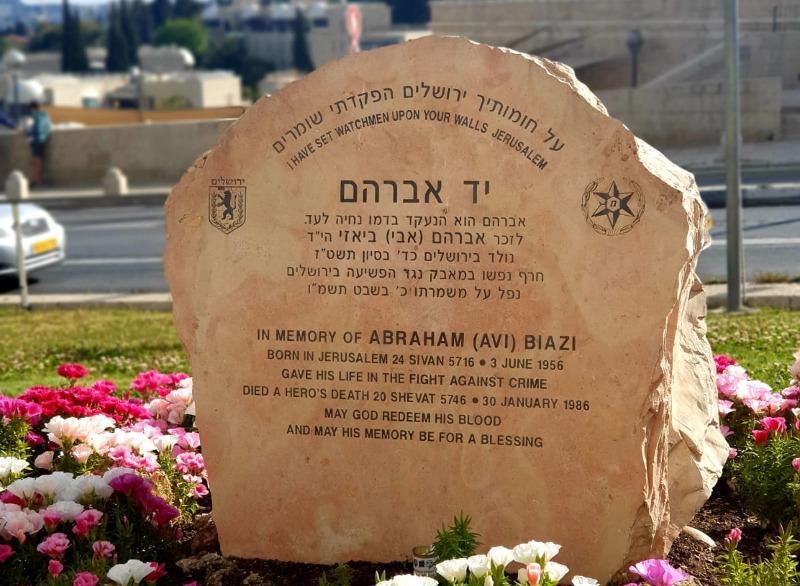 יום הזיכרון: תנועות הנוער בירושלים הניחו פרחים בעשרות האנדרטאות בעיר