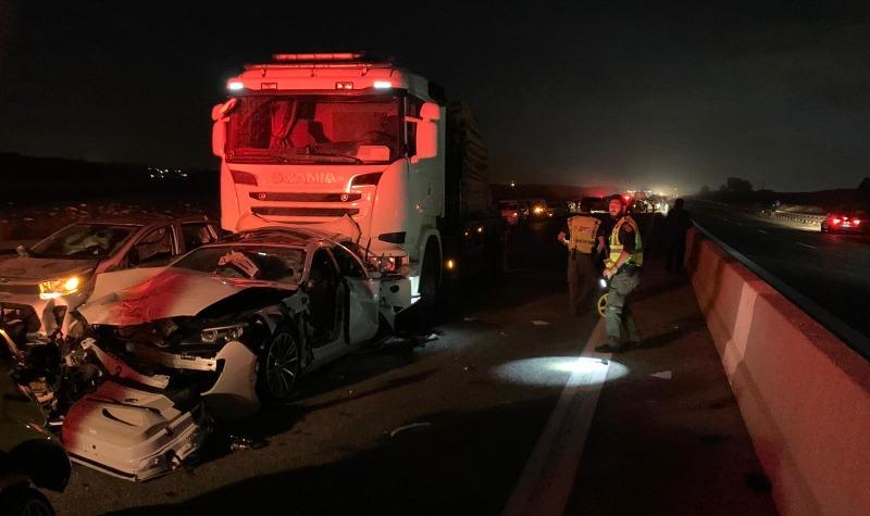 תאונה קשה בכביש 77