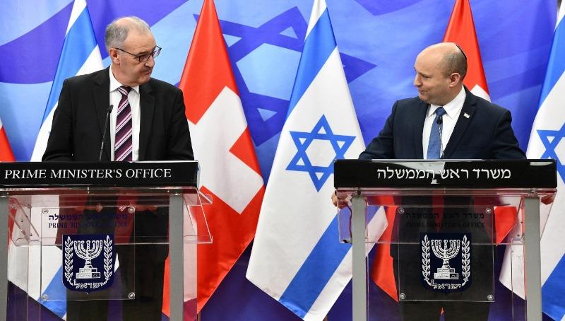 """בנט בפגישה עם נשיא שוויץ: """"מאמין שנחווה פנדמיות נוספות"""""""