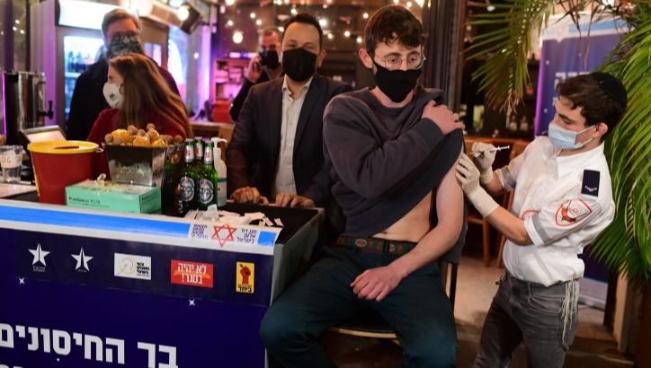מתחם חיסונים בתל אביב