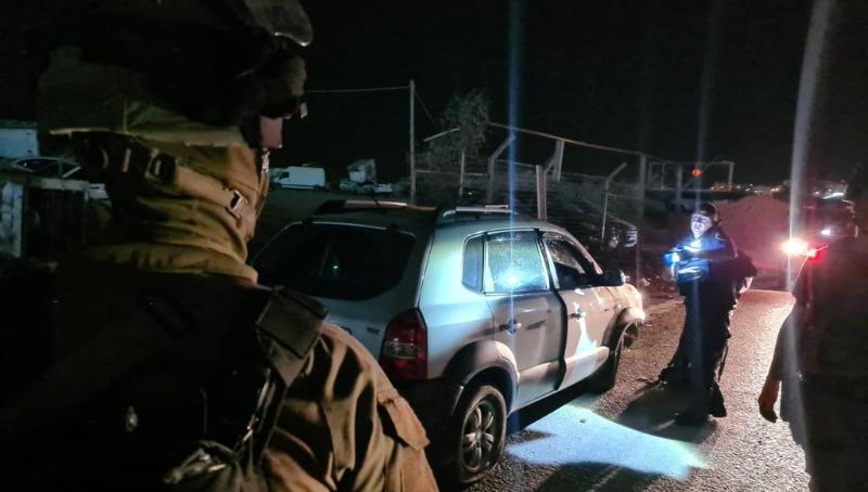 """פיגוע דריסה בקלנדיה: לוחם מג""""ב נפצע בינוני, המחבל נתפס"""