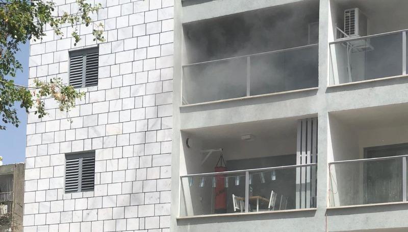השריפה בחולון