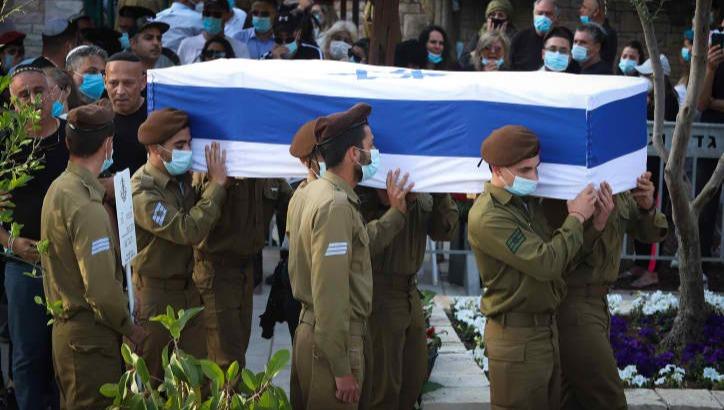 הלוויתו של החייל עמית בן יגאל