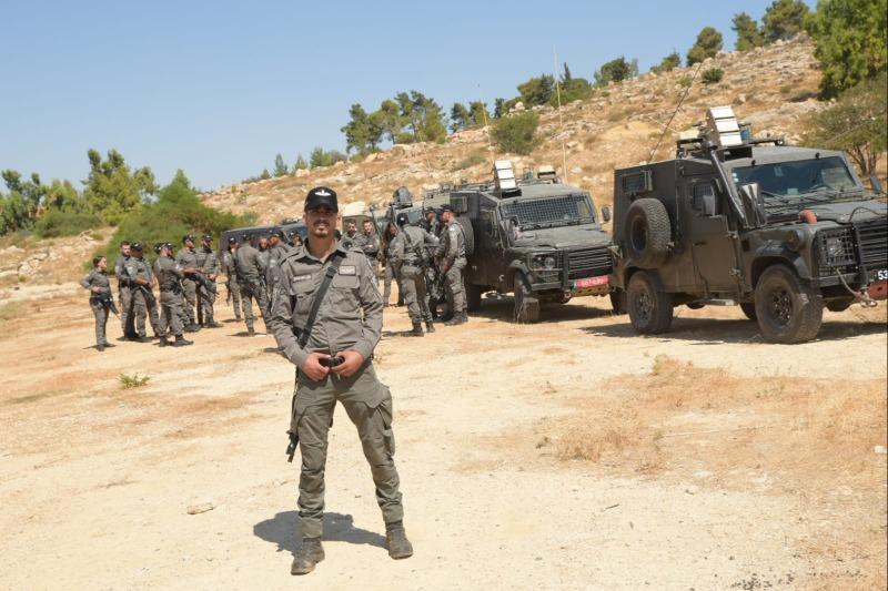 כוחות הביטחון לקראת הפינוי