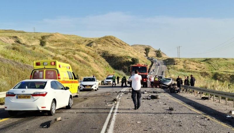 התאונה הקטלנית בכביש 90