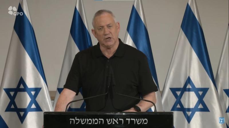 """נתניהו וגנץ בהצהרה מיוחדת: """"חמאס והג'יהאד האיסלאמי - ישלמו מחיר כבד מאוד"""""""