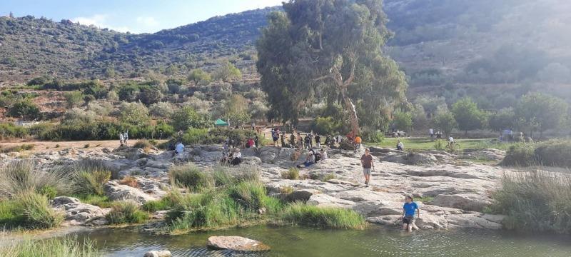 30% מהמבקרים בשומרון רואים בשומרון כמקום של טבע ונוף.