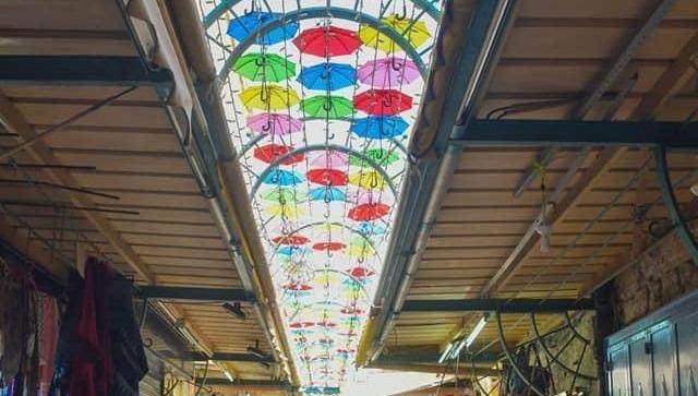 מייצג המטריות ברובע הנוצרי