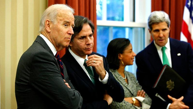 המזכיר בלינקן עם הנשיא ביידן