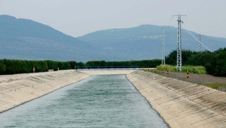 מתקן מקורות. עלייה בכמות המים שהועברה לפלשתינים וירדן