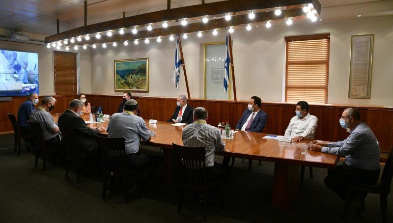 פגישת נתניהו עם ראשי מוסדות בציונות הדתית