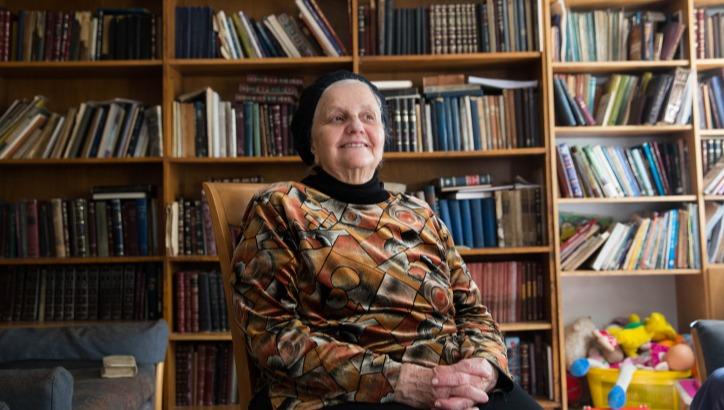 """הרבנית מרים לוינגר ז""""ל"""