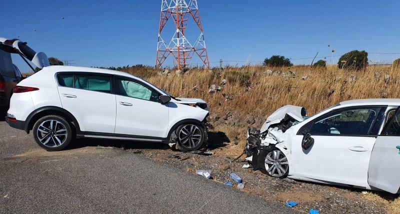 הקטל בכבישים: הרוגה ועוד 4 פצועים בתאונת דרכים ברמת הגולן