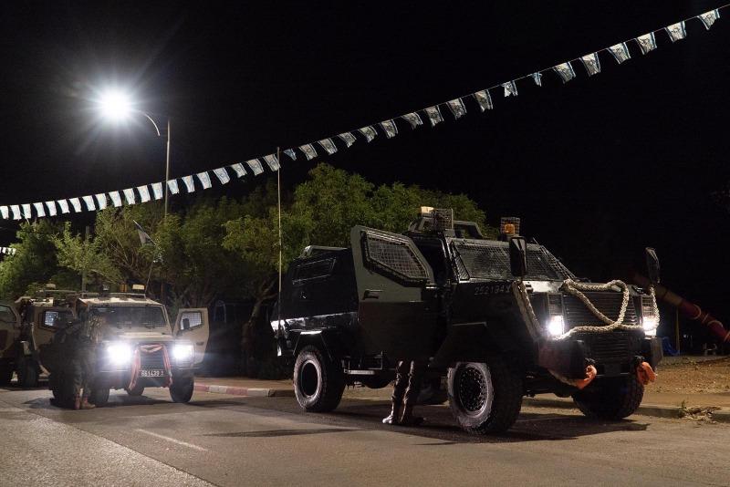 הכוחות פעלו במרחב לאיתור חשודים