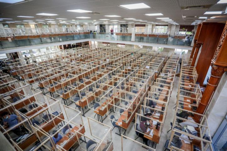 ישיבת שדרות בימי קורונה. כמעט 600 תלמידים