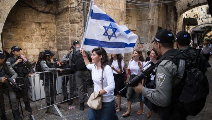 3,000 שוטרים יאבטחו את ריקוד הדגלים