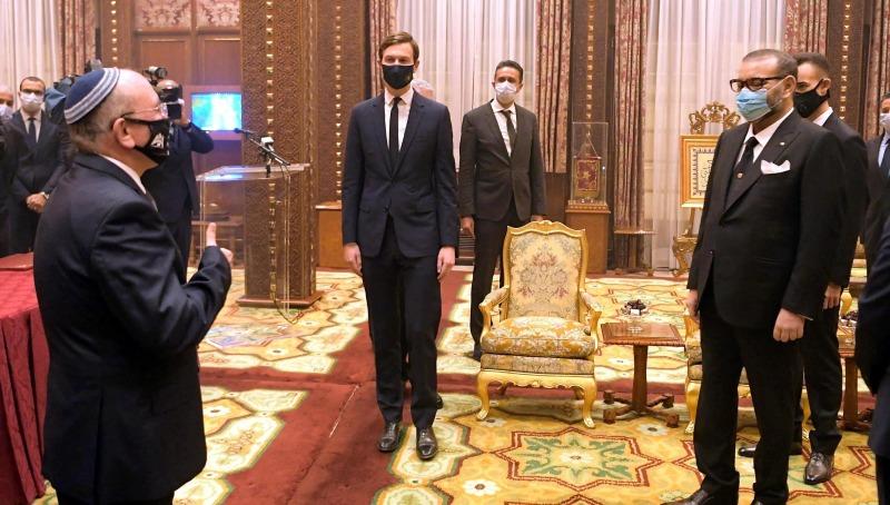"""ראש המל""""ל מברך את מלך מרוקו"""