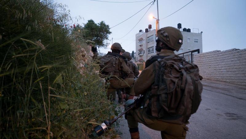 """פעילות צה""""ל שהובילה למעצר החשוד"""