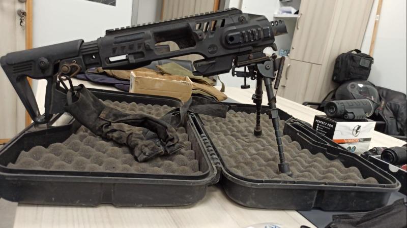 חלק הנשק שנתפס