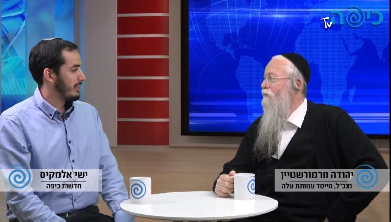 הרב יהודה מרמורשטיין בראיון מיוחד לחדשות כיפה
