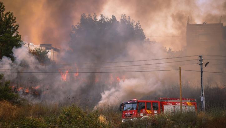 השריפה בהרי ירושלים
