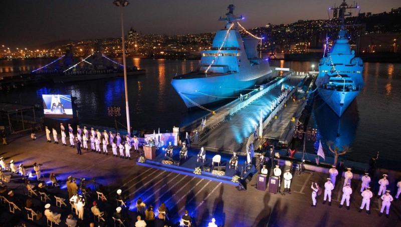 הטקס בבסיס חיל הים בחיפה