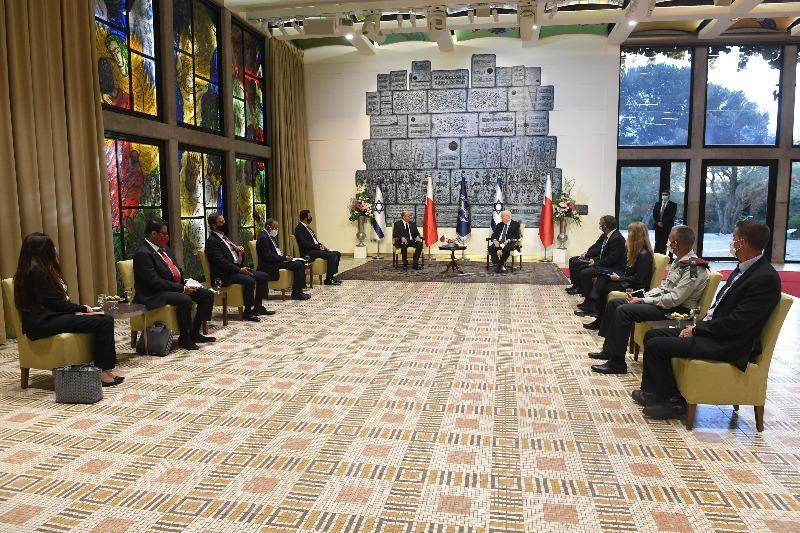 הפגישה בין הנשיא ושר החוץ