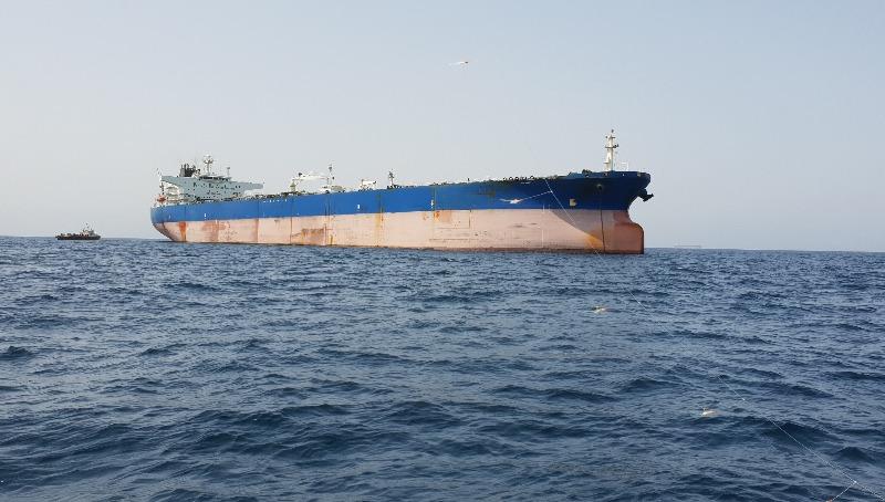 ספינה במפרץ הפרסי. אילוסטרציה