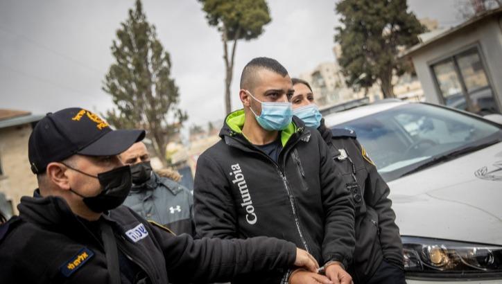 מעצר הנהג החשוד אבראהים חאמד מוקדם יותר השבוע