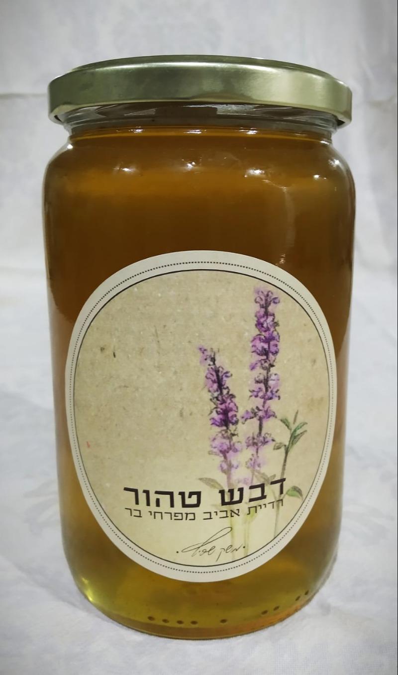 דבש טהור מפריחת אביב פרחי בר