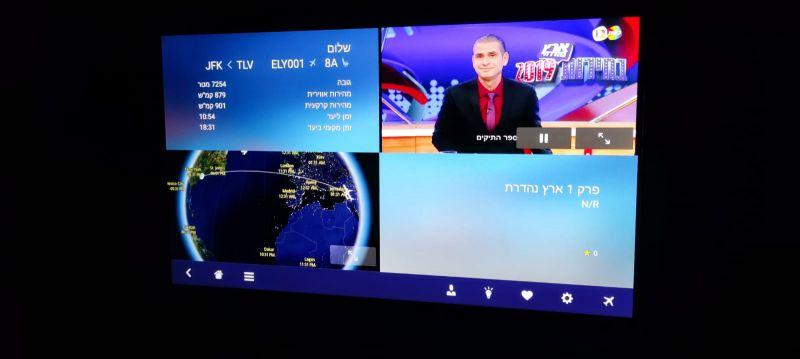 מערכת המולטימדיה במטוס