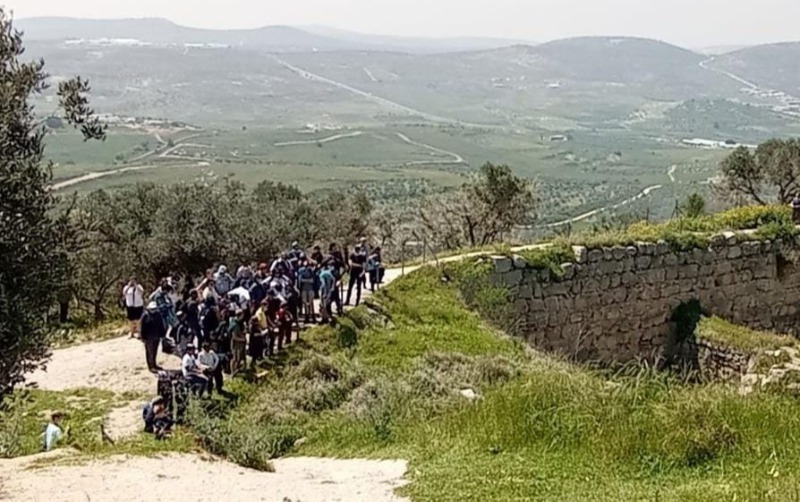 מטיילים בשומרון העתיקה