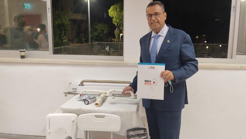 יושבים? עיריית ירושלים מתקינה ערכות חינמיות למניעת נפילות