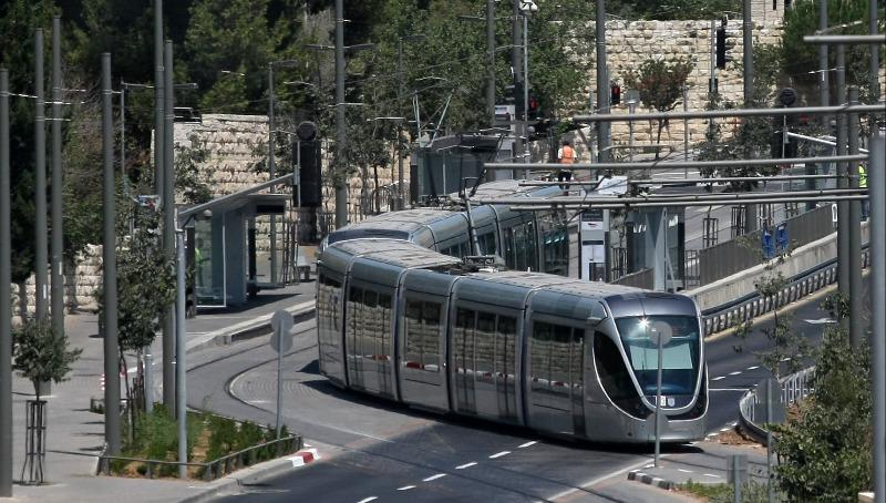 שמות התחנות של הרכבת הקלה בירושלים נחשפים