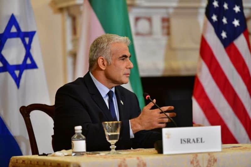 """יאיר לפיד בארצות הברית: """"ישראל שומרת לעצמה את הזכות לפעול מול הגרעין האיראני"""""""