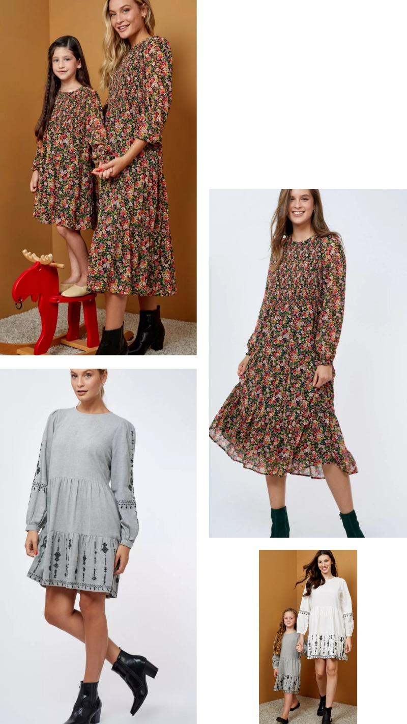 טרנד המיני מי - שמלות לאמא ולבת