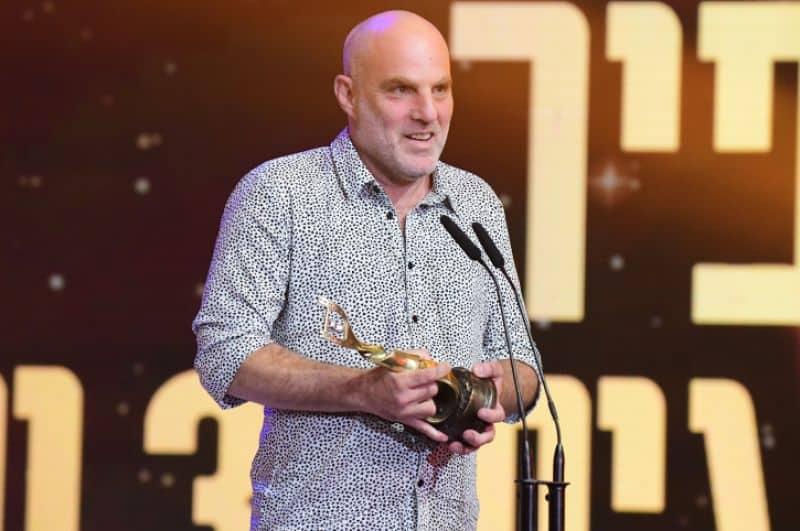 הבמאי ערן קולירין בטקס