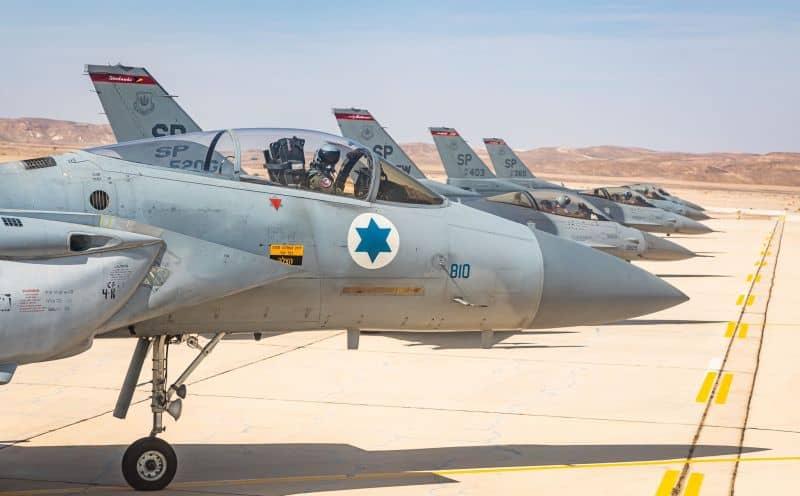 במהלך תקיפה בסוריה: מטוסי חיל האוויר ספגו אש איראנית