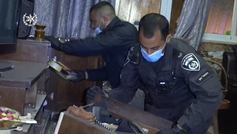 המאבק בפשיעה הערבית: עשרות מעצרים והחרמת נשקים