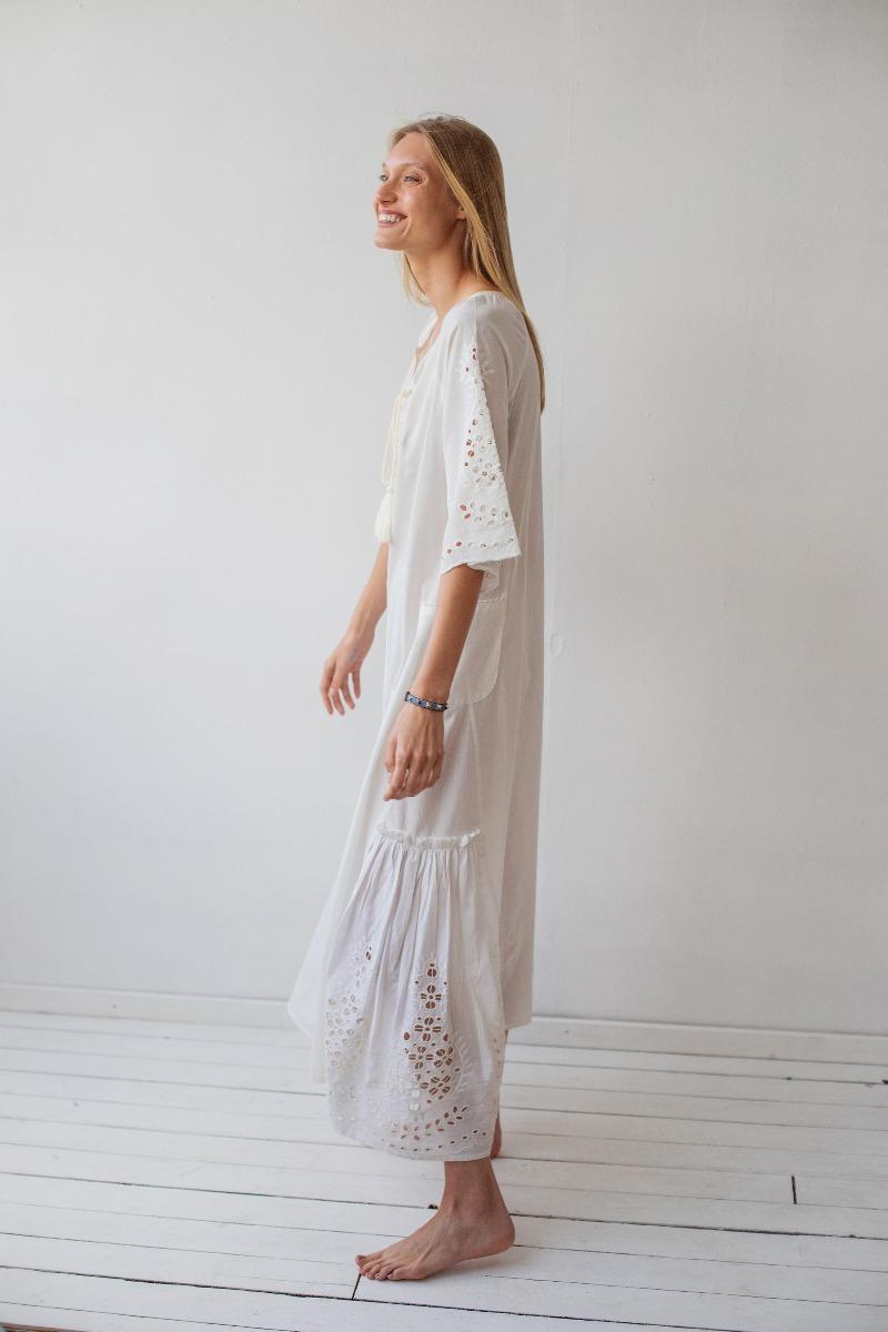 שמלת כותנה קרושה של המותג גלביה